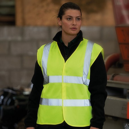 High Visibility Safety Waistcoat - Adult